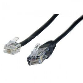 Câble téléphonique RJ11 vers RJ45 - 3m