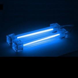 2 x Tube Néon bleu 30cm + alimentation - C62