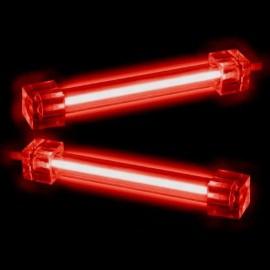2 x Tube Néon rouge 30cm + alimentation - C62
