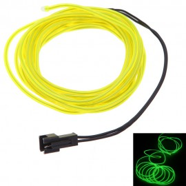 Câble Electro Luminescent - 1.5 m - Jaune - C62