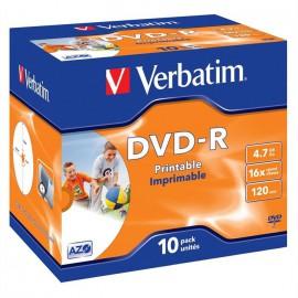 DVD+R Verbatim x 10 Boite