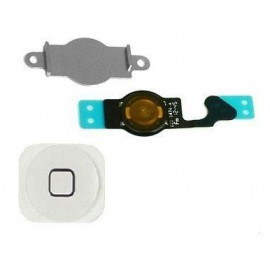 Bouton Home Blanc + Nappe iPhone 5C - C70