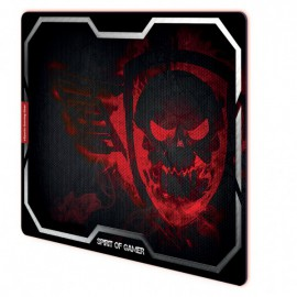 Tapis SOG Red Winged Skull M - Rouge