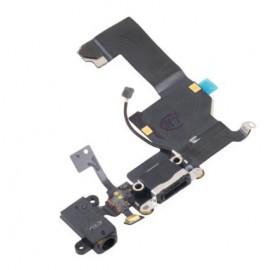 Nappe Dock de charge + Jack iPhone 5C Noir - C70