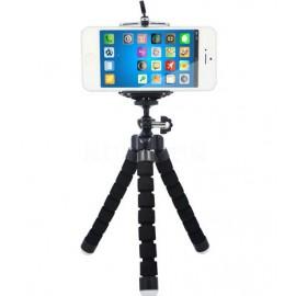 Mini trépied rouge pour téléphone / caméra / appareil photo