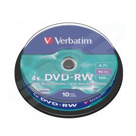 DVD-RW Verbatim x 10 Boite