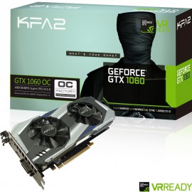 GeForce GTX1060-OC KFA2 CoolingFan 6Go - C10