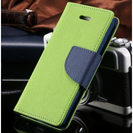 Etui KissCase iPhone 4/4S Vert / C70