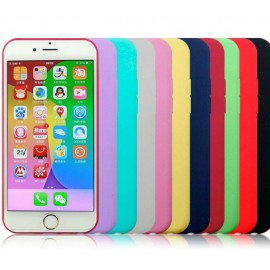 Coque Blanc iPhone 6/6S Silicone TPU Gel / C70