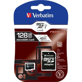 32Go Verbatim Micro-SD C10 + Adap - F1