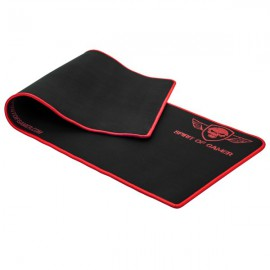 Tapis SOG Red Smokey Skull XL - Rouge