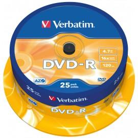 DVD-R Printable Verbatim x 50 Spindle