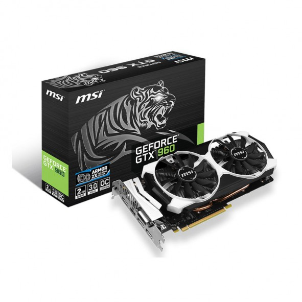 GeForce GTX960-OC MSI 2GD5T OC 2Go - C1